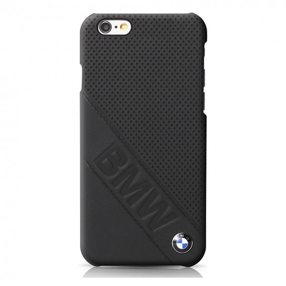 BMW Signature Collection Hard Case For iPhone 7 Slanted Logo - Black