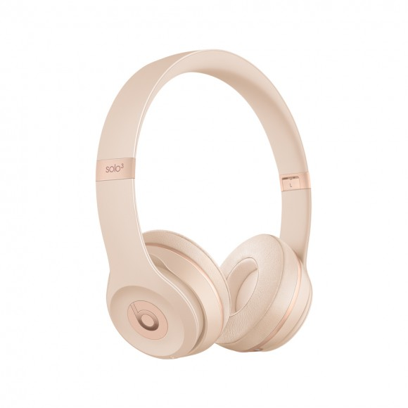 Beats Solo3 Wireless On-Ear Headphones Matte Gold