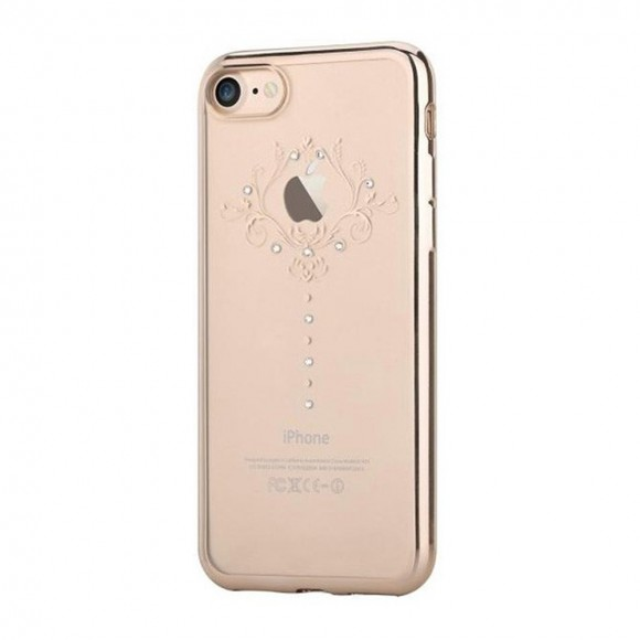Devia Crystal Iris Soft Series Case for iPhone 7 Plus - Gold