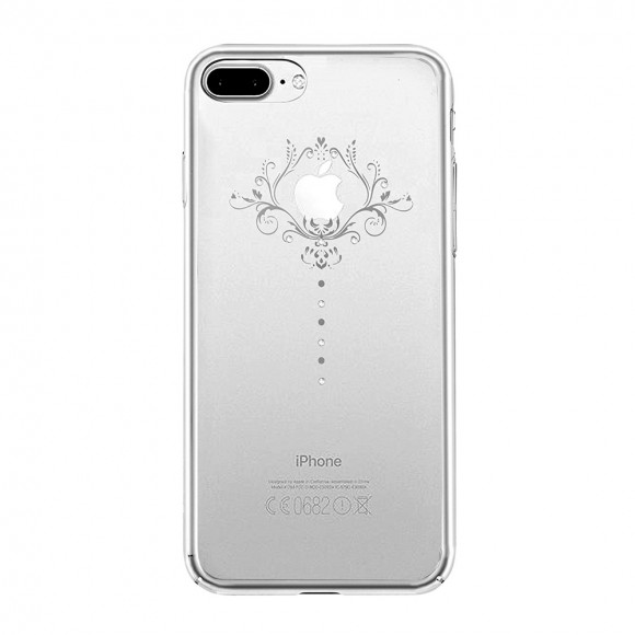 Devia Crystal Iris Soft Series Case for iPhone 7 plus - Silver