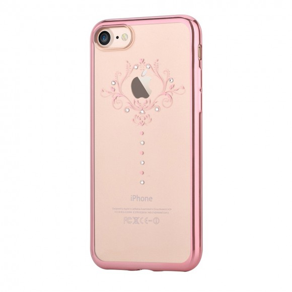 Devia Crystal Iris soft case for iPhone7 Rose Gold