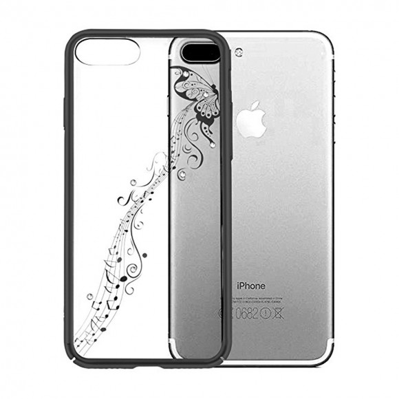 Devia Crystal Papillon Gun Black for iPhone 7 Plus & iPhone 8 Plus