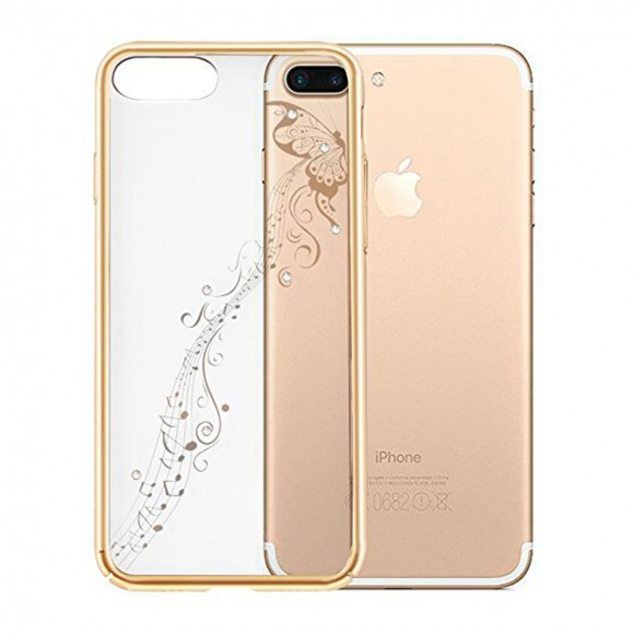 Devia Crystal Papillon c gold for iPhone 7 Plus & iPhone 8 Plus