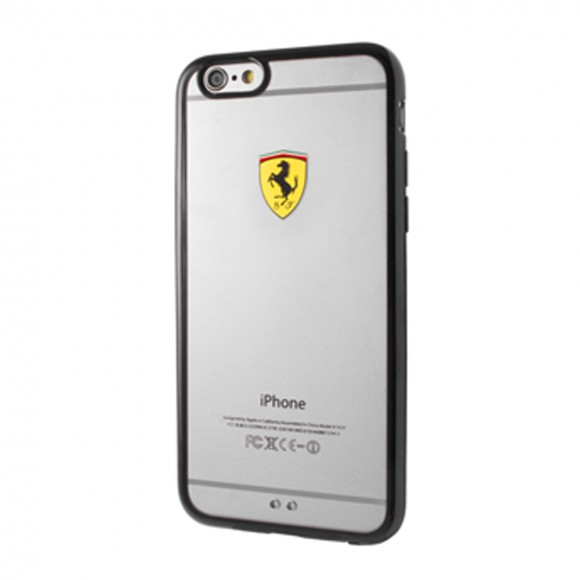 Ferrari Racing Shield Tpu Transparent iphone 7 Blac