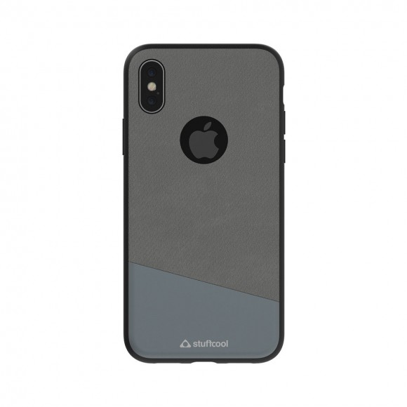 Stuffcool Perla Dual Tone Fashion & Stylish Leather Classy Business Back Case Cover for Apple iPhone X 2