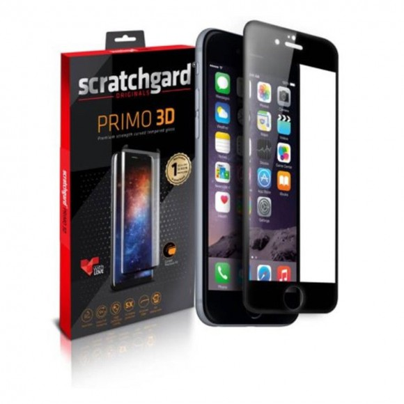 Scratchgard-Primo-3D-Tempered-Glass-For-Apple-iPhone-8-Black