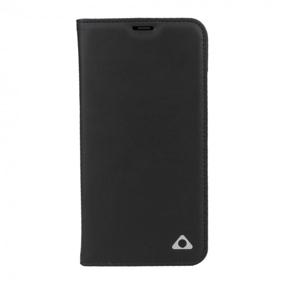 Stuffcool Baron Leather Flip Wallet Case Cover for Apple iPhone X - Black