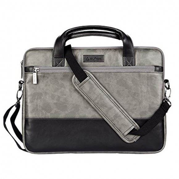 Stuffcool Lush Shoulder Sleeve Bag 14 - Grey - Black