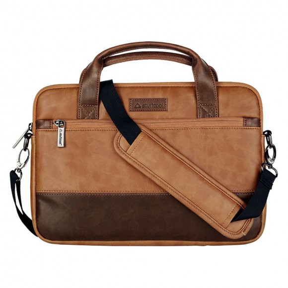 Stuffcool Lush Shoulder Sleeve Bag MacBook Brown