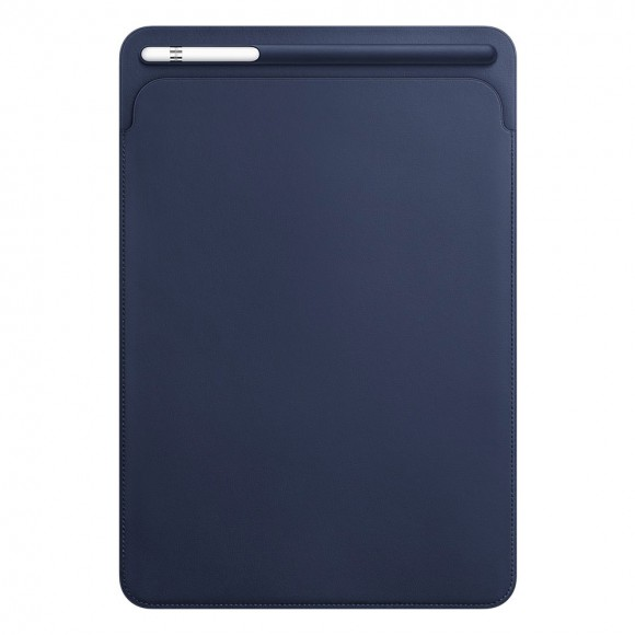 Leather-Sleeve-for-10.5‑inch-iPad-Pro-Midnight-Blue