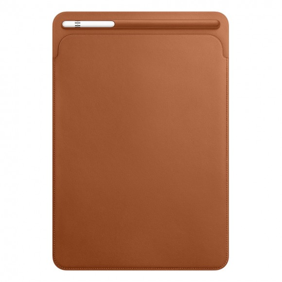 Leather-Sleeve-for-10.5‑inch-iPad-Pro-Saddle-Brown