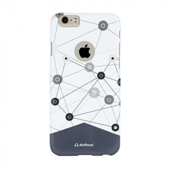 Stuffcool VIVANT Glossy Graphic Case for Apple iPhone 6 - 6S - Plannet