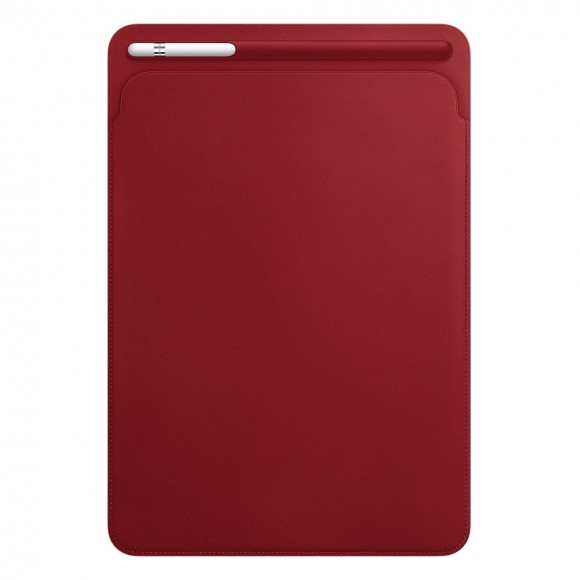 Leather-Sleeve-for-10.5‑inch-iPad-Pro-RED