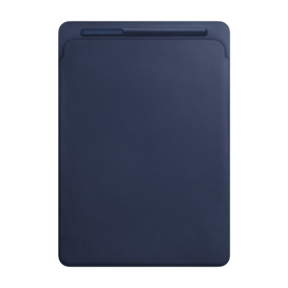 iPad Pro 12 Leather Sleeve Midnight Blue