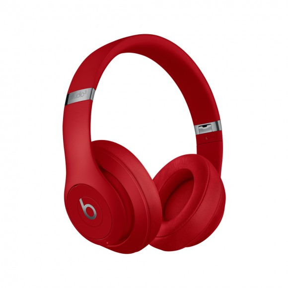 Beats Studio3 Wireless Over-Ear Headphones Red
