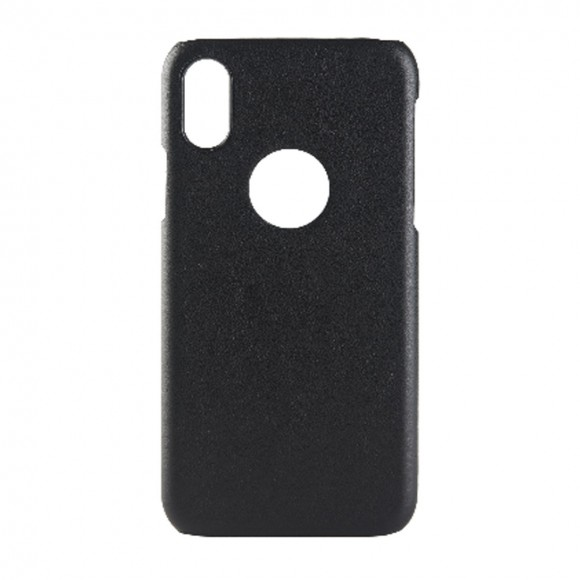 Neopack Leather Wrapped Case for Apple iPhone X - blk