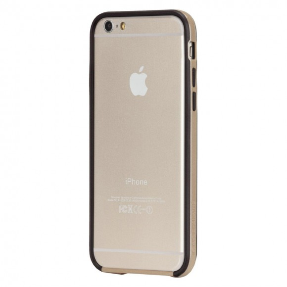 Case-Mate-Tough-Frame-Bumper-Case-for-Apple-iPhone-6-6S-Champagne-Black