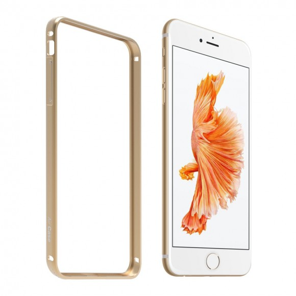 AirCase-Aluminum-Metal-Guard-Bumper-Case-Cover-for-Apple-iPhone-6-6S-(Gold)