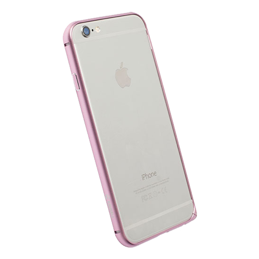Sysme Apple Authorized Krusell Aluminium Bumper Case For Iphone 6 6s Pink Plus