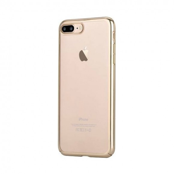 DEVIA GLIMMER CASE FOR APPLE IPHONE 7 PLUS CHAMPAGNE GOLD