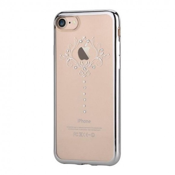 Devia Crystal Iris soft case for iPhone7 Silver