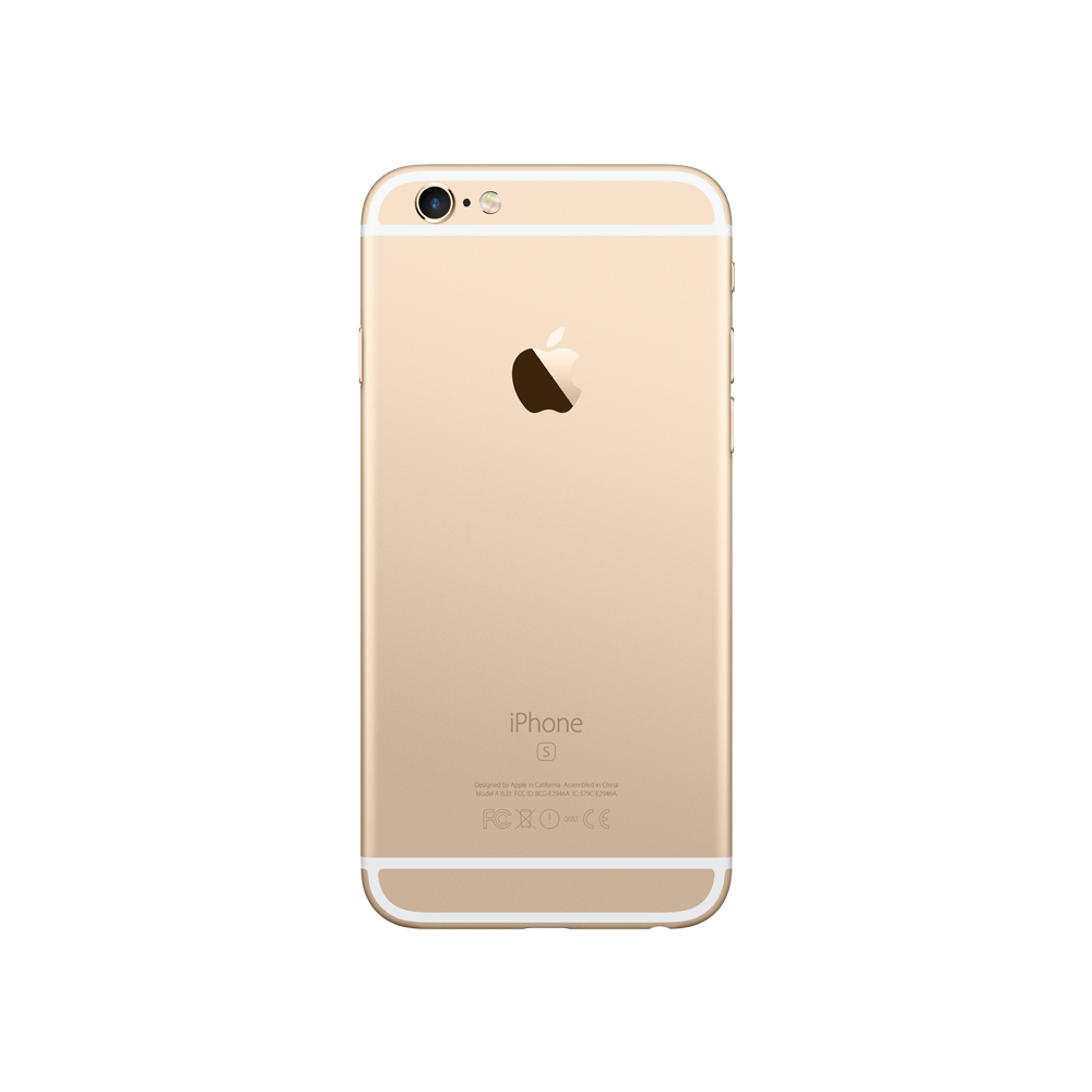 sysme apple authorized iphone 6s plus 128gb gold mkuf2hn a. Black Bedroom Furniture Sets. Home Design Ideas