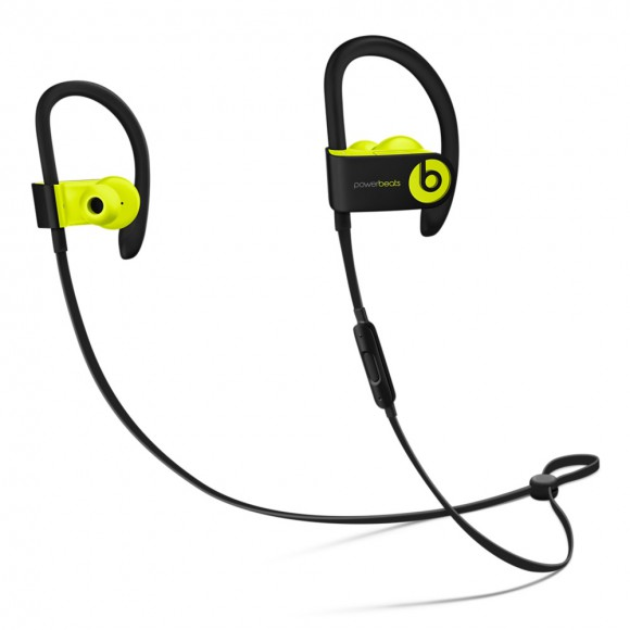Powerbeats3 Wireless Earphones Shock Yellow