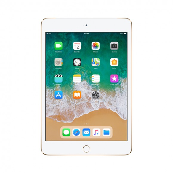 iPad Mini 4 Wifi  Cell Gold 1