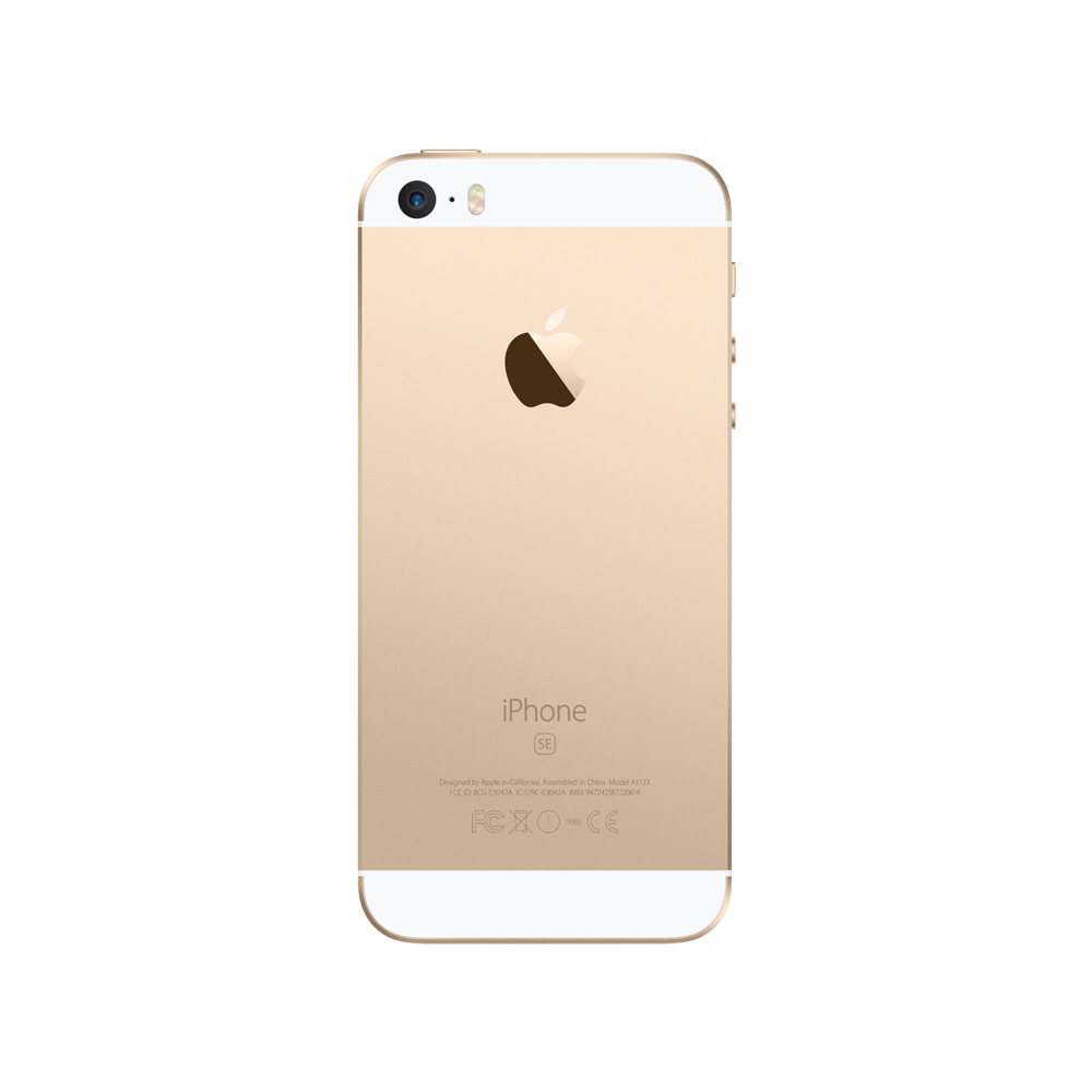 Sysme, Apple Authorized, iPhone SE 32GB Gold (MP842HN/A)