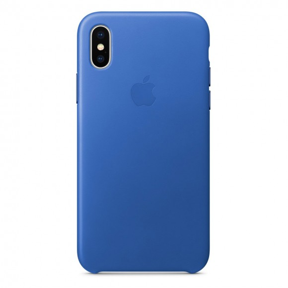 iPhone-X-Leather-Case-Electric-Blue