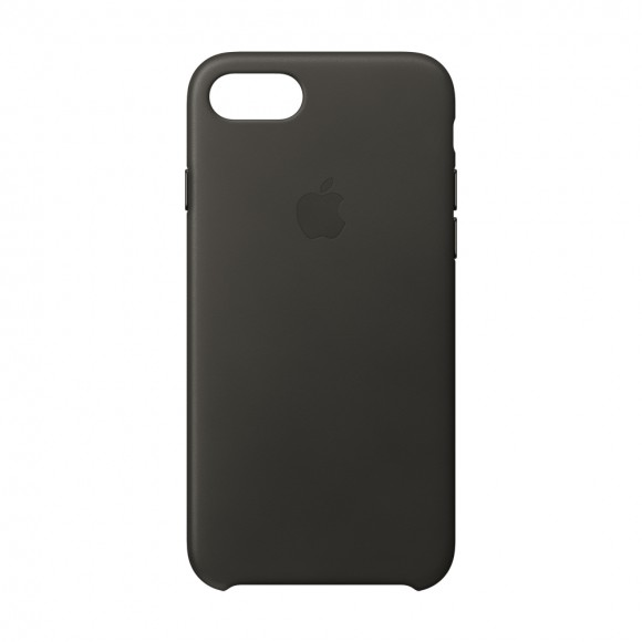 iPhone 8 -7 Leather Case Charcoal Gray