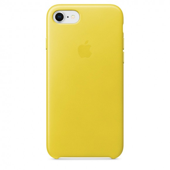 iPhone-8-7-Leather-Case-Spring-Yellow
