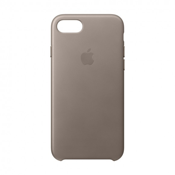 iPhone 8-7 Leather Case Taupe