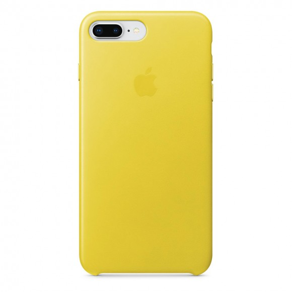 iPhone-8-Plus-7-Plus-Leather-Case-Spring-Yellow