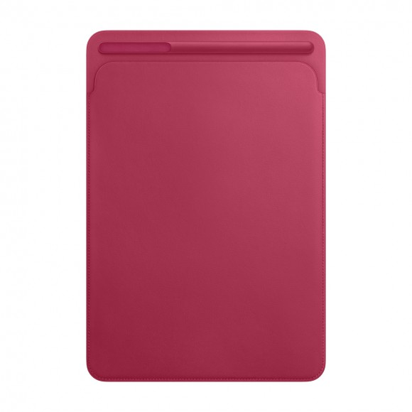 Leather Sleeve for 10inch iPadPro - Pink Fuchsia