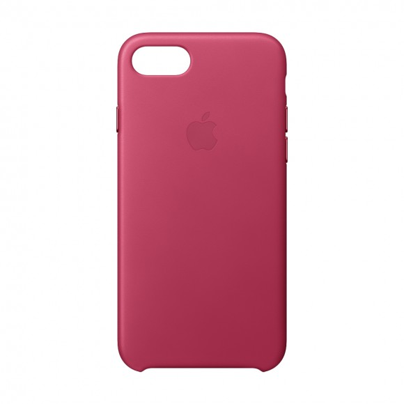 iPhone 8 -7 Leather Case Pink Fuchsia