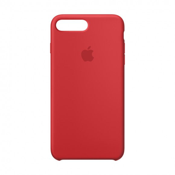 iPhone 8-7 Silicone Case REDt