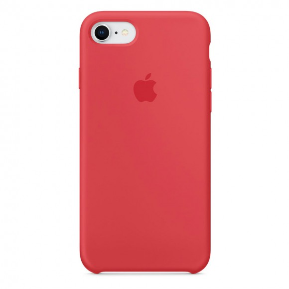 iPhone-8-7-Silicone-Case-Red-Raspberry