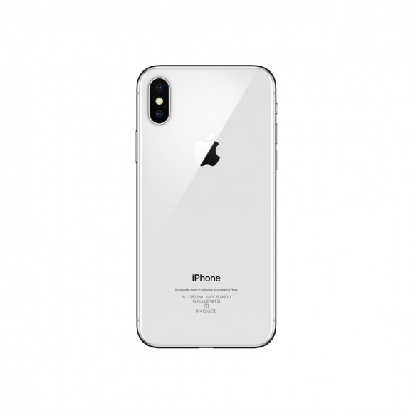 iPhone X Silver 3