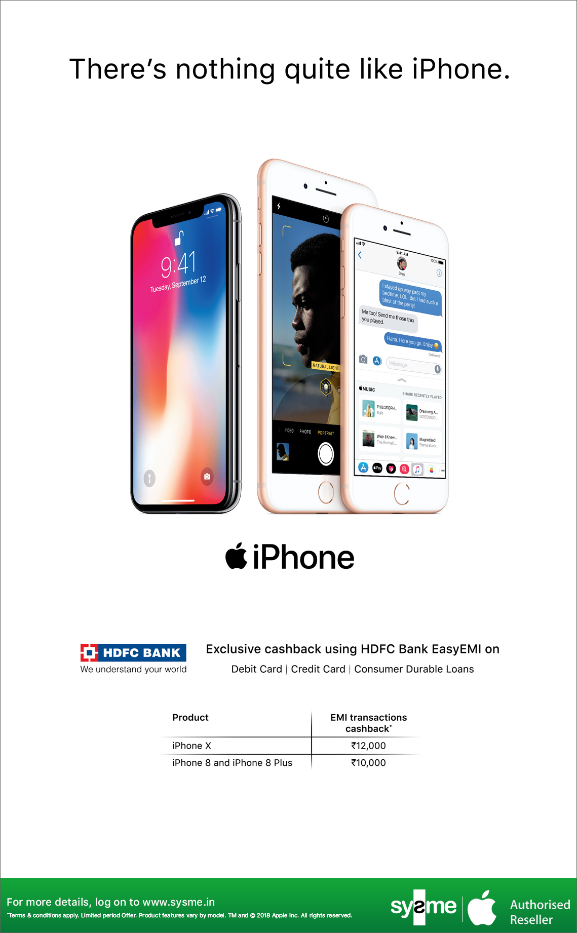 iPhone-HDFC-EDM (sysme)