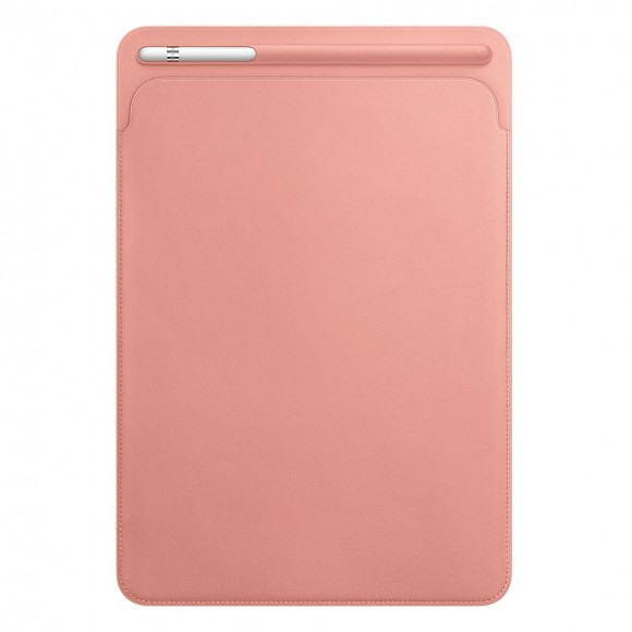 Leather-Sleeve-for-10.5‑inch-iPad-Pro-Soft-Pink